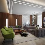 Разработка дизайна квартиры Одесса ул. Французский бульвар ЖК «Жемчужина 8» . Строительная компания «Kadorr Group»