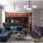 Яркая квартира в 26-й «жемчужине», кадорр групп / colorful apartment in 26th «pearl», kadorr group
