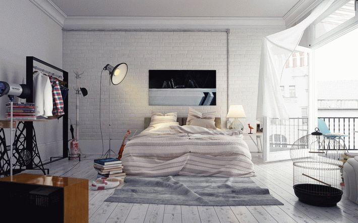 6-Loft-style-bedroom