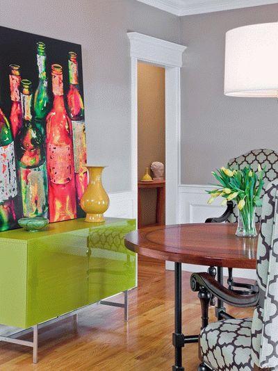 living-room-neon-green