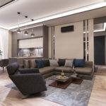 Квартира в ЖК «Гринвуд», 50.8м²/ apartment in «Greenwood» complex, 50.8m²