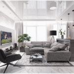 Жилище минималиста: более 50 оттенков серого в интерьере / Minimalist dwelling: more than 50 shades of gray in the interior